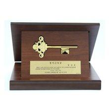 [골드모아]순금 행운의 열쇠 상패 11.25g 24k [ 대형 ]