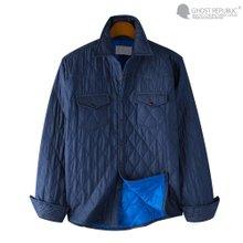 고스트리퍼블릭 남성 누빔 패딩 셔츠 MSH5-J04FG