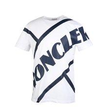[몽클레어]20SS 8C70610 8390T 001 남성 로고 프린팅 티셔츠 화이트