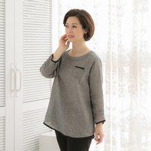 마담4060 엄마옷 아주칭찬해티셔츠 QTE903066