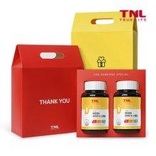 트루앤라이프 캐나다직수입 햇빛에너지 비타민D 2000 I.U 2개입 선물세트 + 쇼핑백 (총6개월분)