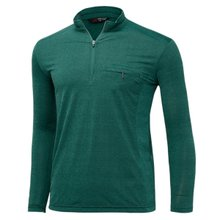 [파파브로]남성 국산 긴팔 카라 반집업 등산복 티셔츠 LM-A9-214-5-그린