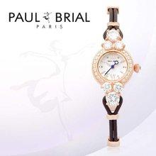 폴브리알(PAUL BRIAL) 여성시계(PB8001ROBR/가죽밴드)