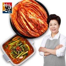 [마음심은] 배윤자 포기김치 7kg + 열무김치 3kg