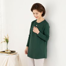 마담4060 엄마옷 네크라인진주블라우스 QBL908064