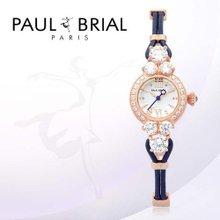 폴브리알(PAUL BRIAL) 여성시계(PB8001ROBU/가죽밴드)
