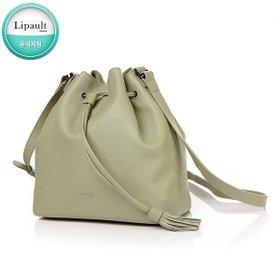 [리뽀] LIPAULT PLUME ELEGANCE NEW BUCKET BAG A. GREEN P6214016
