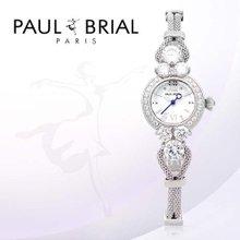 폴브리알(PAUL BRIAL) 여성시계(베르사이유/PB8001WT/메쉬밴드)