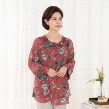 마담4060 엄마옷 고상한나염블라우스 QBL908063