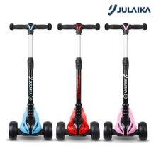 줄라이카 J5 접이식 킥보드/유아 어린이 씽씽카 광폭 LED 바퀴