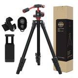 [벤토사] DSLR 스마트폰 블루투스 고급형 파노라마 삼각대 M3 에디션 삼각대 풀세트 VTS-M3