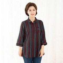 마담4060 엄마옷 길어보이는셔츠 QBL908061