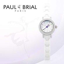 폴브리알(PAUL BRIAL) 여성시계(PB8002WSS_A/세라믹밴드)