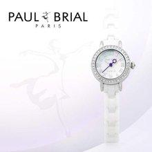 폴브리알(PAUL BRIAL) 여성시계(PB8002WSS_R/세라믹밴드)