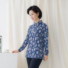 마담4060 엄마옷 로맨틱한카라티셔츠-ZTE002088-