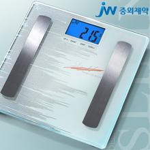 [JW중외제약] 슬림엔 체지방측정기[SF-252S(JW)]/블루백라이트, 터치스크린, 한번으로 7가지 측정