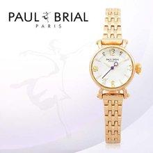 폴브리알(PAUL BRIAL) 여성시계(툴루즈/PB8003GD/팔찌밴드)