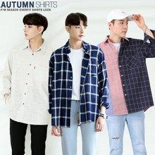 [단군] 가을 시즌 남성 오버셔츠 균일가