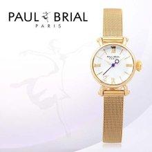 폴브리알(PAUL BRIAL) 여성시계(툴루즈/PB8003GD_mesh/팔찌밴드)