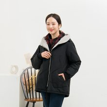 마담4060 엄마옷 포근배색끈점퍼-ZJP911020-