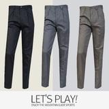 [마운틴가이드]겨울 등산복/단체복/작업복/등산 팬츠/기능성 남성 기모 면바지 TXM-P7415