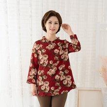 마담4060 엄마옷 예쁜큰꽃블라우스 QBL908088