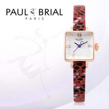 폴브리알(PAUL BRIAL) 여성시계(아작시오/PB8004RGRE/가죽밴드)
