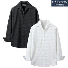 [해리슨] NJ 기획 체크 셔츠 MET1560
