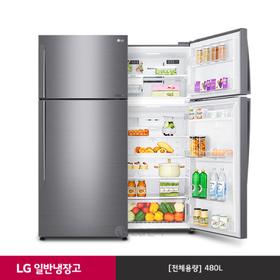 [LG][신세계 상품권 증정!] 일반냉장고 샤인 B477SM (480ℓ)