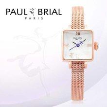 폴브리알(PAUL BRIAL) 여성시계(PB8004RG메쉬/팔찌밴드)