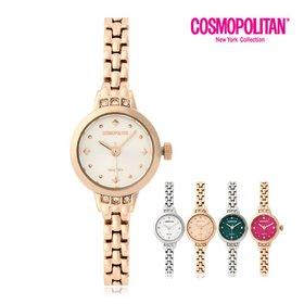[코스모폴리탄]여성 메탈 시계 CPM1531