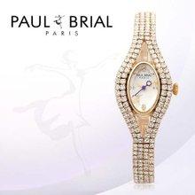 폴브리알(PAUL BRIAL) 여성시계(보르도/PB8005QGD/팔찌밴드)