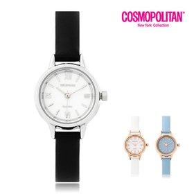 [코스모폴리탄]여성 가죽 시계 CPL1530