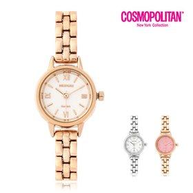 [코스모폴리탄]여성 메탈 시계 CPM1529