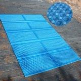 캠핑/나들이형 코팅 블루 성형 발포매트(140x200cm)