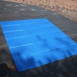 특대형 캠핑/나들이 블루 코팅매트(200x240cm)