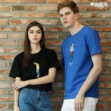 [크루클린] 패션 반팔 티셔츠 TRS108