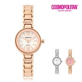 [코스모폴리탄]여성 메탈 시계 CPM1526