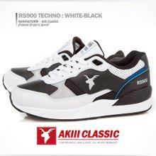 AKIIICLASSIC 알에스900테크노 RS900Techno 화이트블랙WhiteBlack