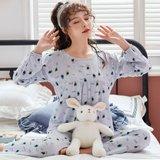 모스트2078G 리틀플렌 여성 잠옷 홈웨어 세트