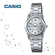 카시오 LTP-V001D-7B 여성 메탈 손목 시계