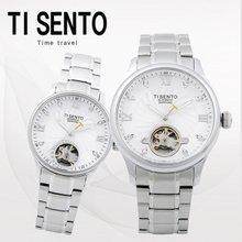 티센토(TISENTO) 남녀손목시계(TS50301WS/메탈/오토매틱)택1