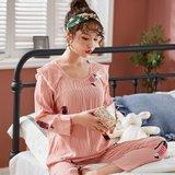 모스트2078E 마인드캣 여성 잠옷 홈웨어 세트 (2color)