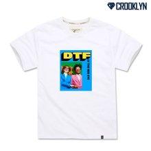 [크루클린] TRS-067 다운투 그래픽 전사 나염 반팔 티셔츠