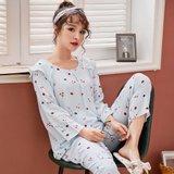 모스트2078D 갤럭시캣 여성 잠옷 홈웨어 세트 (2color)