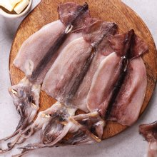 반건조 오징어 피데기 소 10미 (800g 전후)
