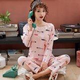모스트2078C 피크피쉬 여성 잠옷 홈웨어 세트 (2color)