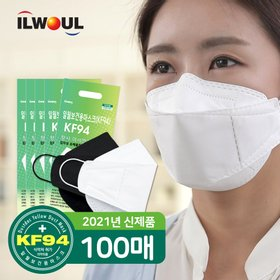 [일월]KF94 황사 미세먼지 마스크 100매