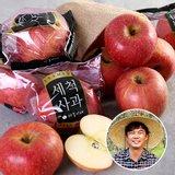 [산지장터]경북 안동 김권수님의 세척사과 3kg 18과내 x 2박스 총6kg
