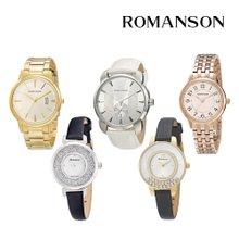[최초판매가 375,000][로만손] 남녀 데일리 손목시계 균일가 13종 택1